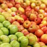 pommes marché