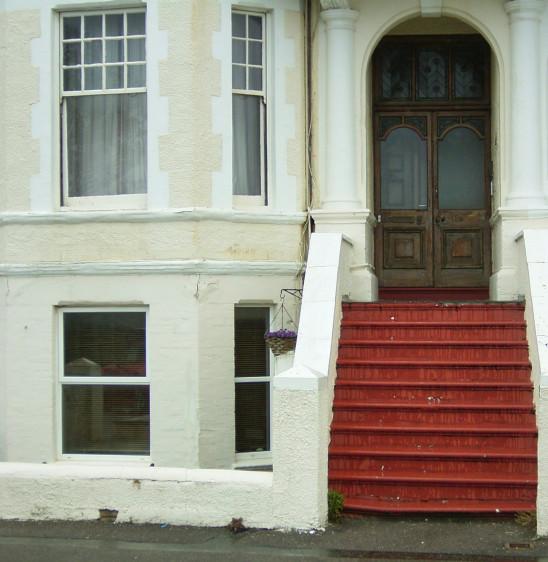 porte seuil entrée ancienne maison