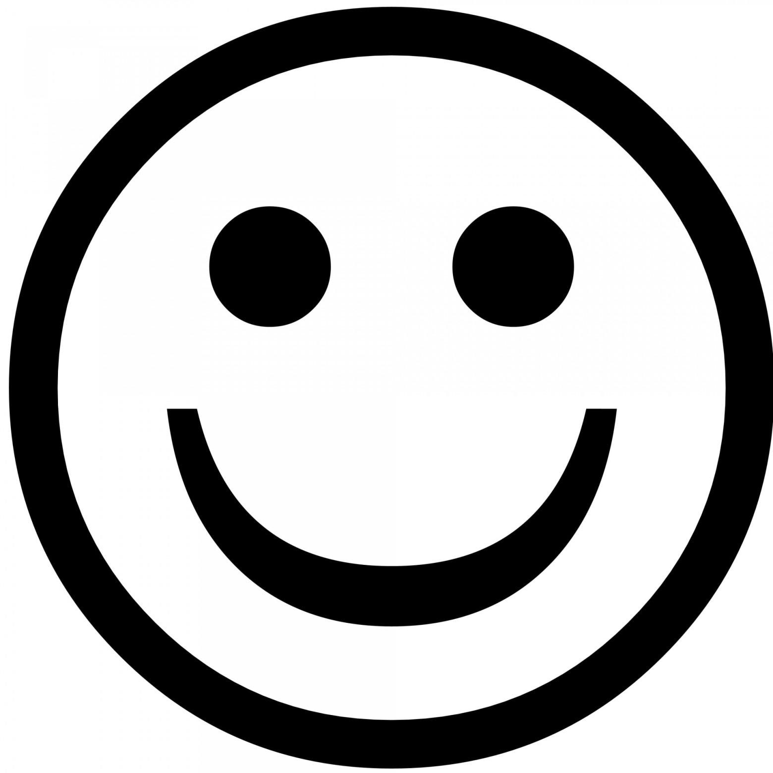Ic ne moticone smiley images gratuites et libres de - Smiley en noir et blanc ...