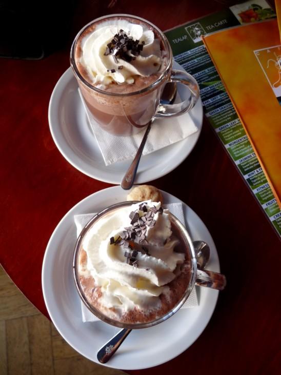 tasse ce chocolat viennois chantilly créme