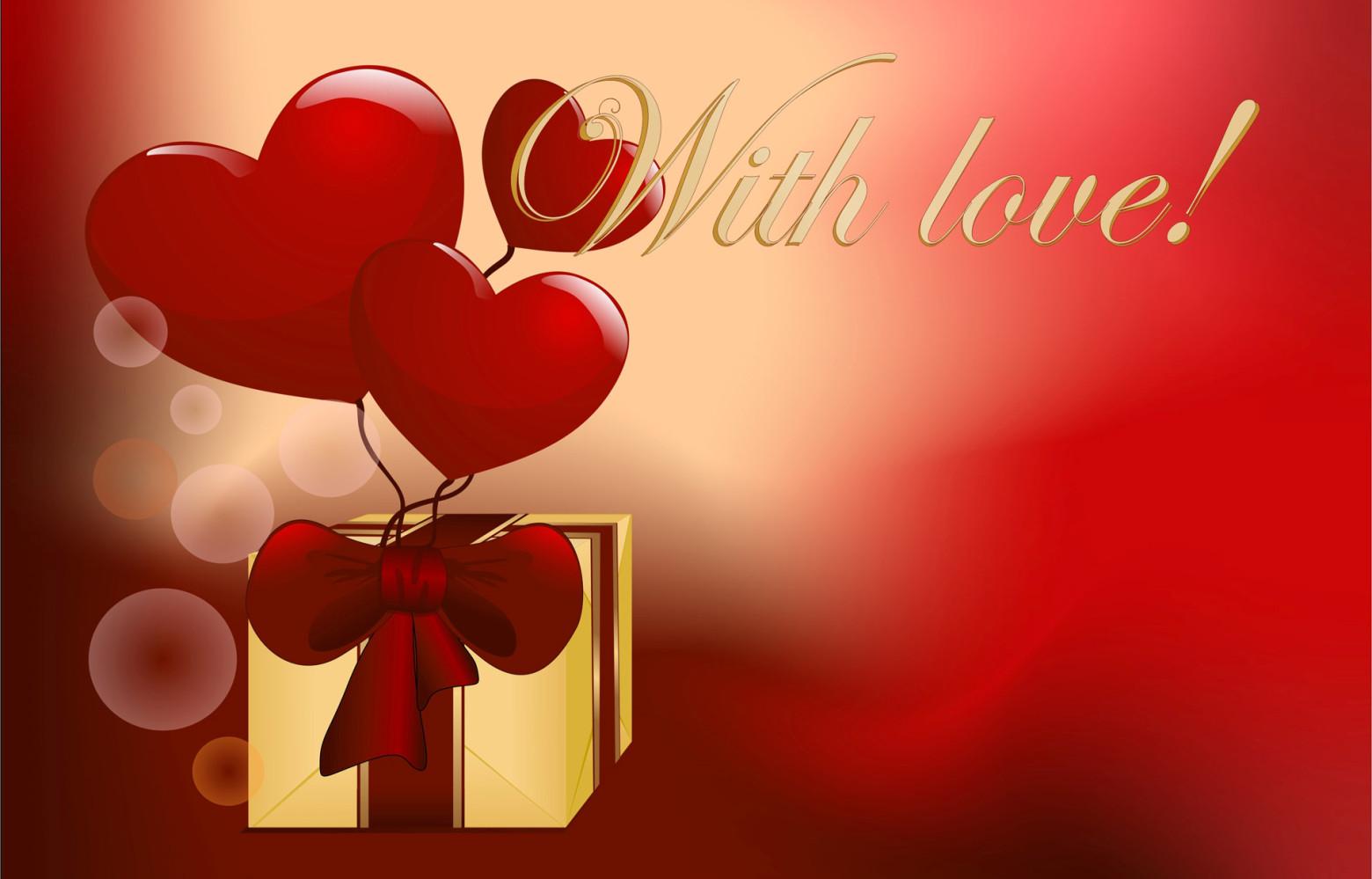 Cadeau Amour Coeur Love Saint Valentin Images Gratuites Et Libres De Droits