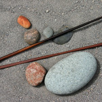 encens et pierre