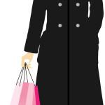 jeune femme mode shopping