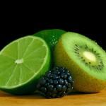 kiwi citron vert mûre