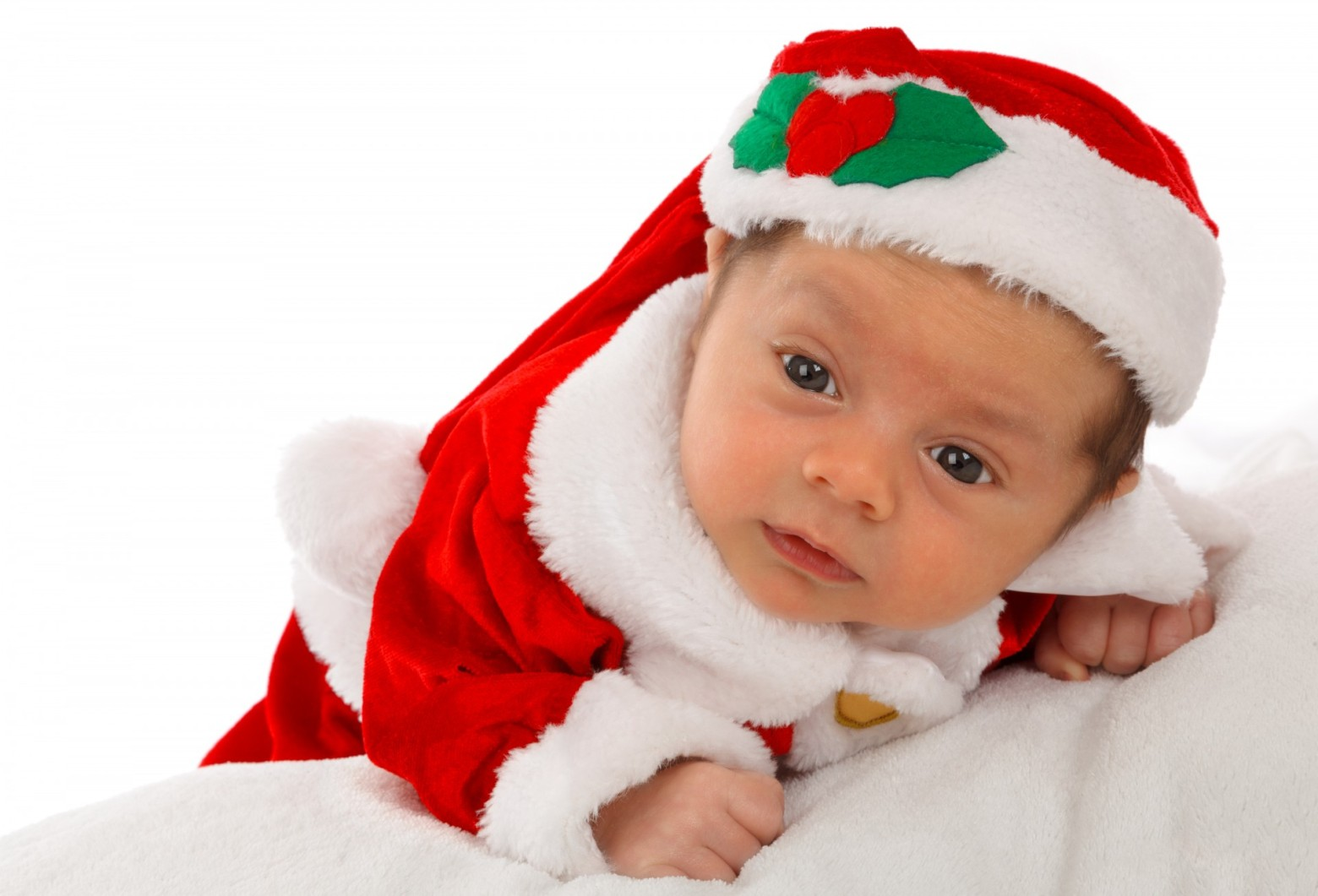 Image De Bebe En Pere Noel.Adorable Bebe Portant Un Bonnet De Pere Noel Images Photos
