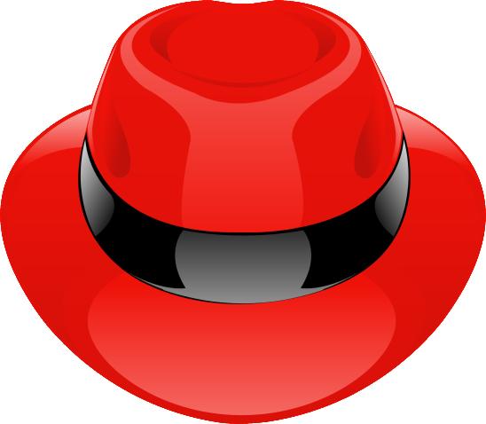 chapeau rouge vectorielle