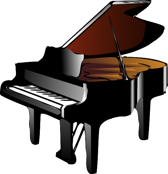 illustration vecteur piano