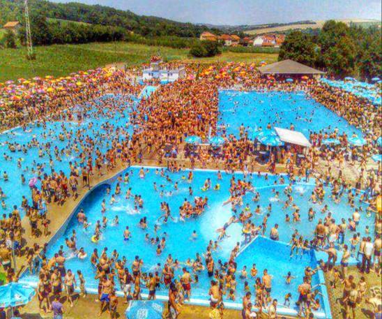 piscine vacance