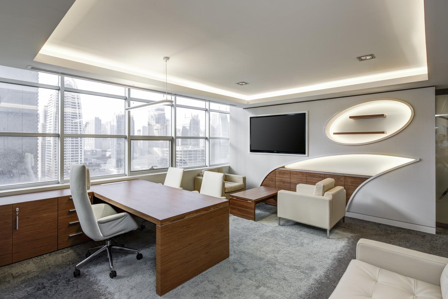Architecture intérieure entreprise bureau de travail images photos