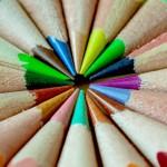 crayons de couleurs nuance nuancier images photos gratuites1