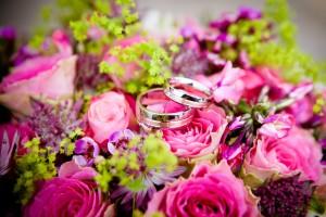 fleur rose bouquet de mariée bague anneau alliance images photos gratuites