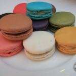 gâteaux délicieux macarons couleurs colorés images photos gratuites