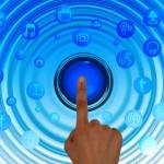 informatique interrupteur on média sociaux logo symbole boutons