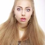 jeune femme blonde mode beauté coiffure images photos gratuites