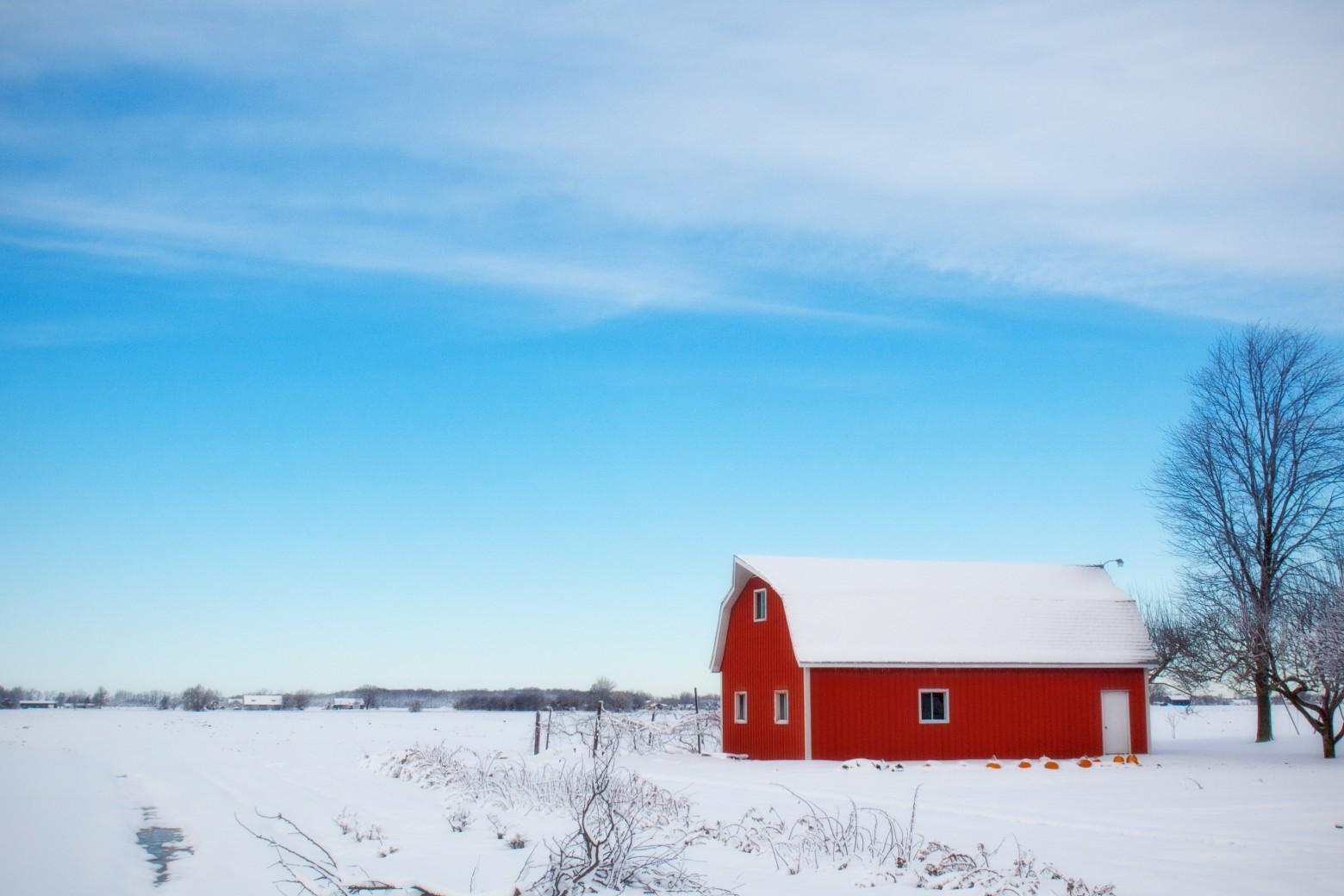 Maison de campagne hiver neige images photos gratuites - Photos de neige gratuites ...