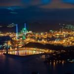 paysage urbain de nuit building mégalopole bâtiment city images photos gratuites2