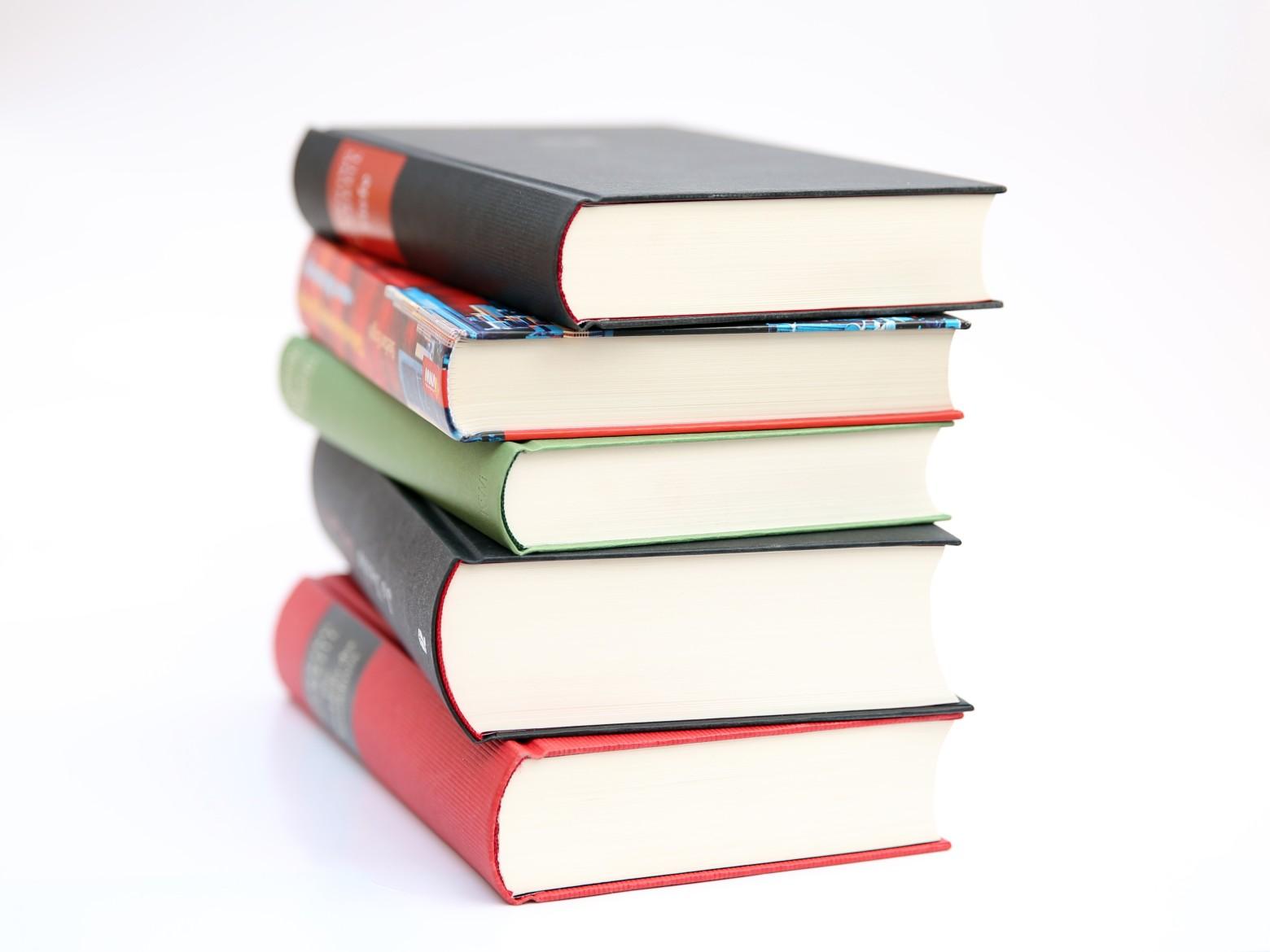 Pile De Livre Bouquin Ecole Education Scolaire Images Photos