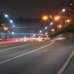 route trafic circulation nuit lumière vitesse abstrait images photos gratuites