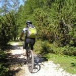 un homme en vélo de montagne images photos gratuites1