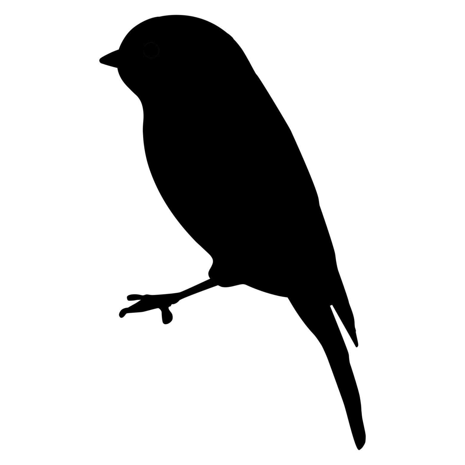 Oiseau Silhouette Clipart Illustration Images Gratuites Images Gratuites Et Libres De Droits
