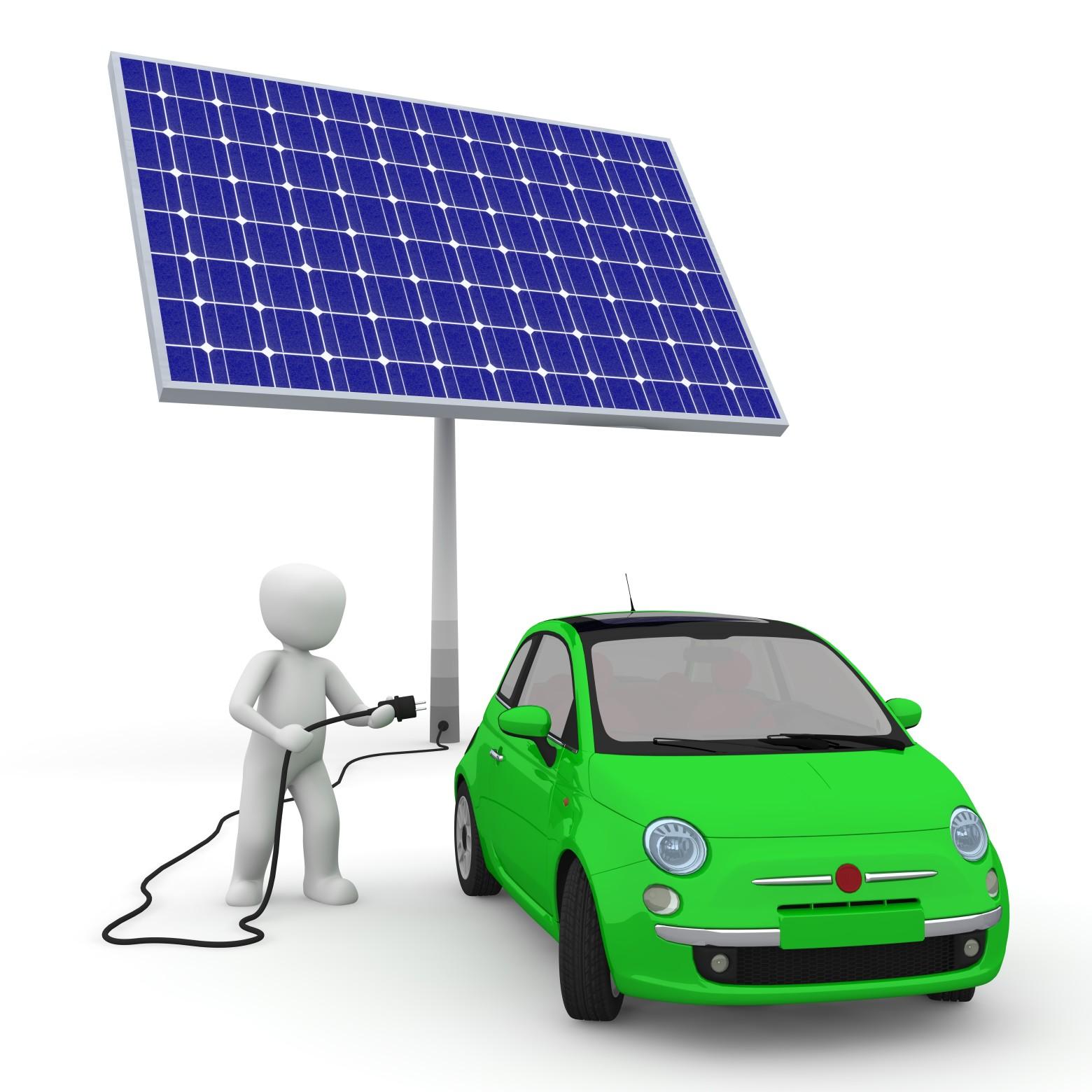 panneau solaire et voiture lectrique images gratuites et libres de droits. Black Bedroom Furniture Sets. Home Design Ideas