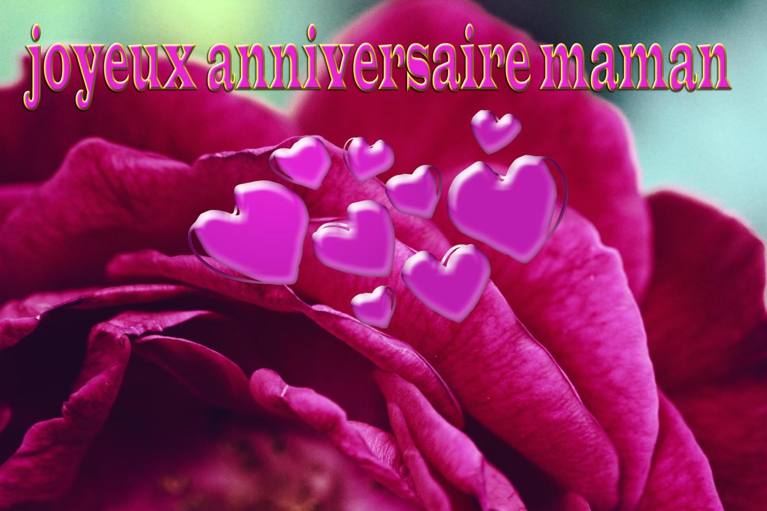 Joyeux Anniversaire Maman Images Gratuites Et Libres De Droits