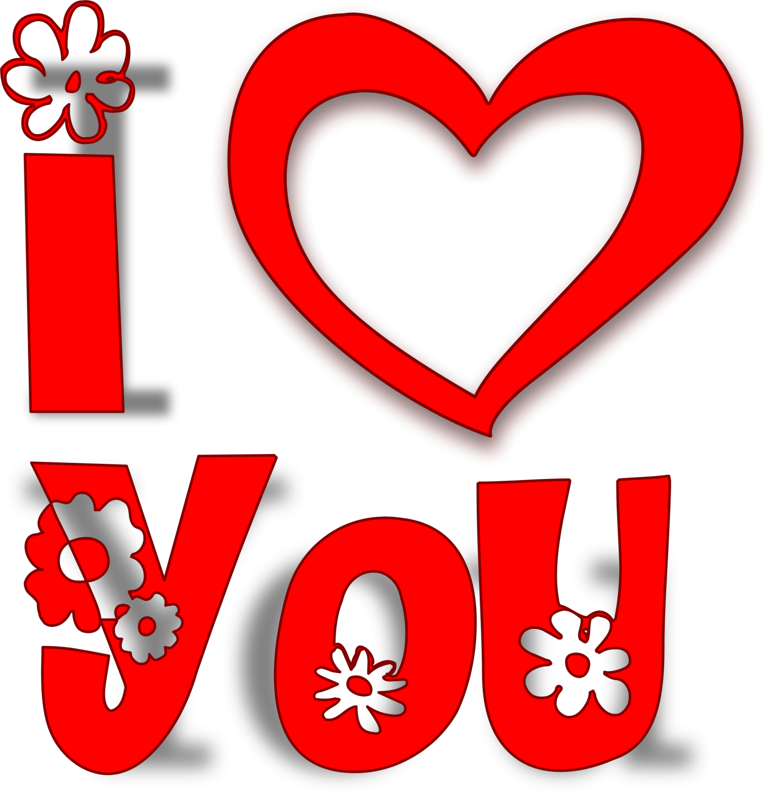Clipart coeur love amour i love you je t aime images - Clipart amour ...