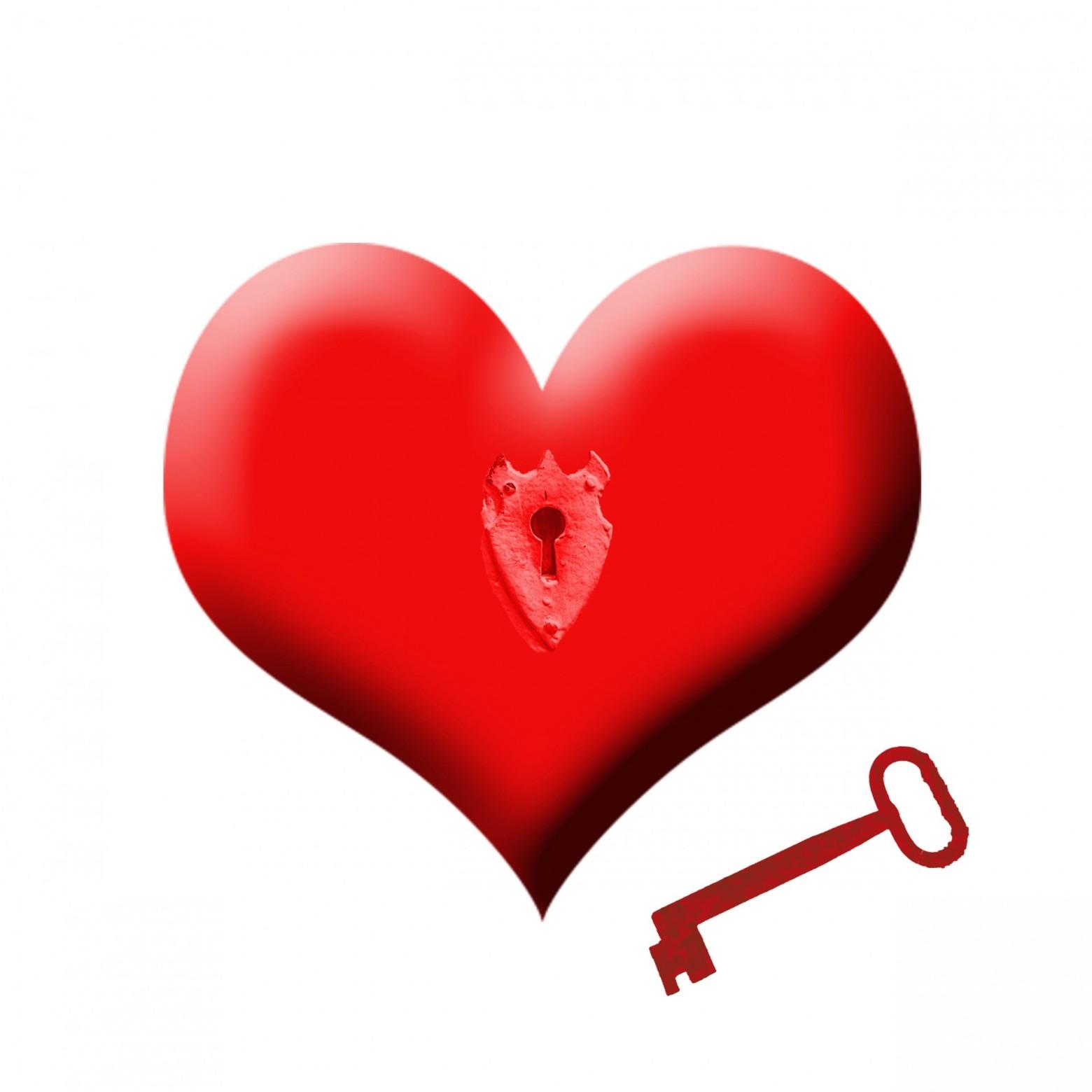 Un coeur et une cl image gratuite images gratuites et - Images coeur gratuites ...
